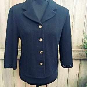 St. John Collection Santana Knit Jacket Blazer 8